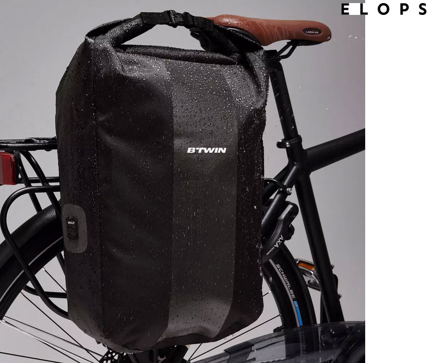aller au travail en vélo sous la pluie, Comment s'équiper pour aller au travail en vélo sous la pluie ?, Nobelity
